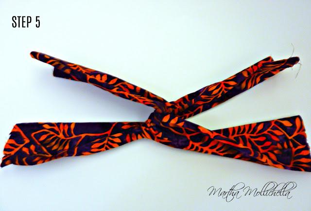 Batik Headband Tutorial