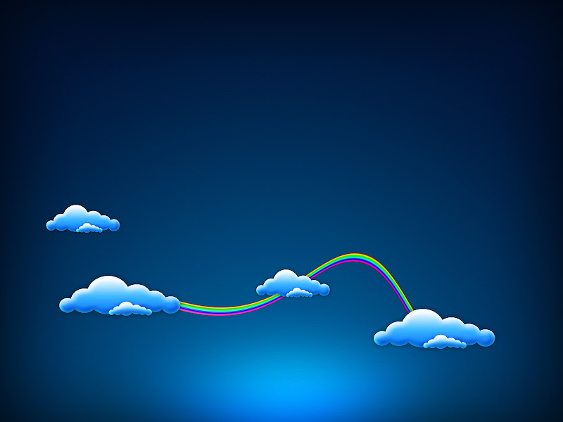 Wallpaper: Blue Sky Clouds title=