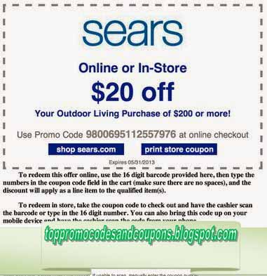 sears coupon in store canada