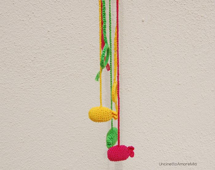 giochi neonati handmade e uncinetto