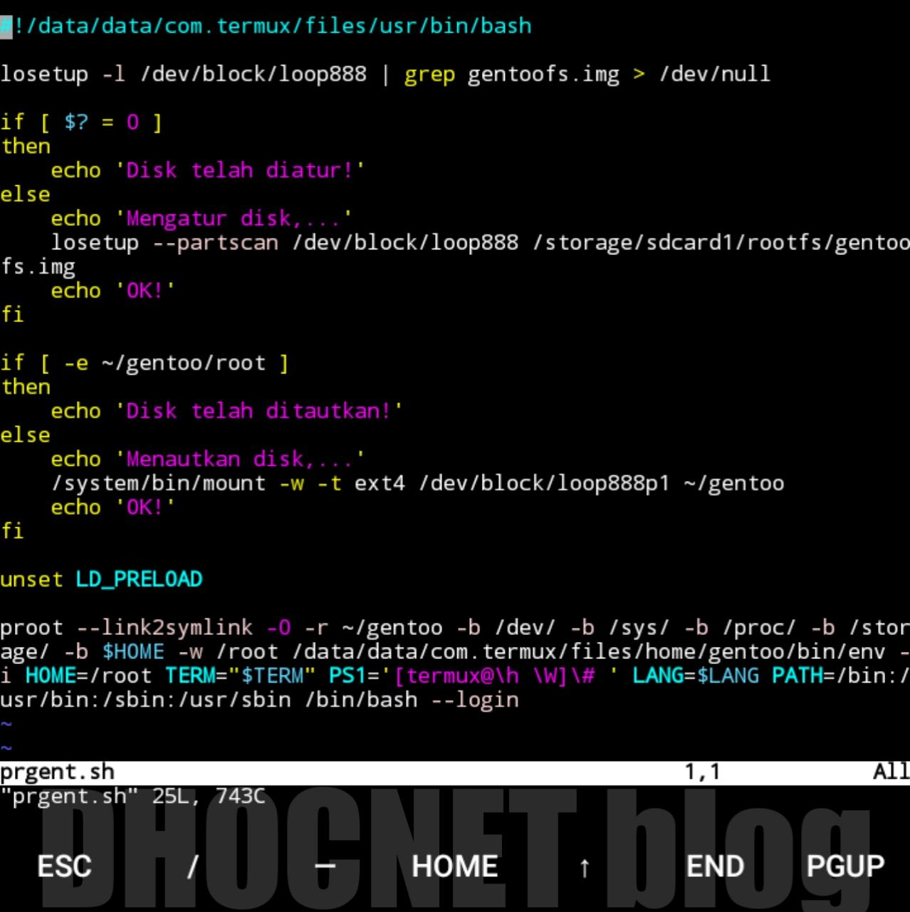 install gentoo linux di android dengan root - blog.dhocnet.work