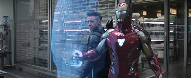 Ronin and Iron Man on Avengers End Game 2019