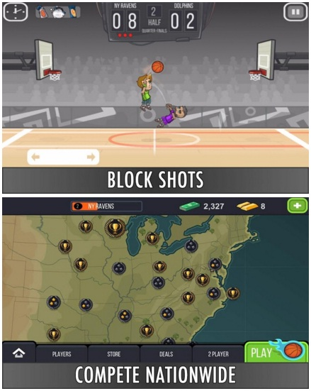 Basketball Battle v 1.88 Offline MOD Apk