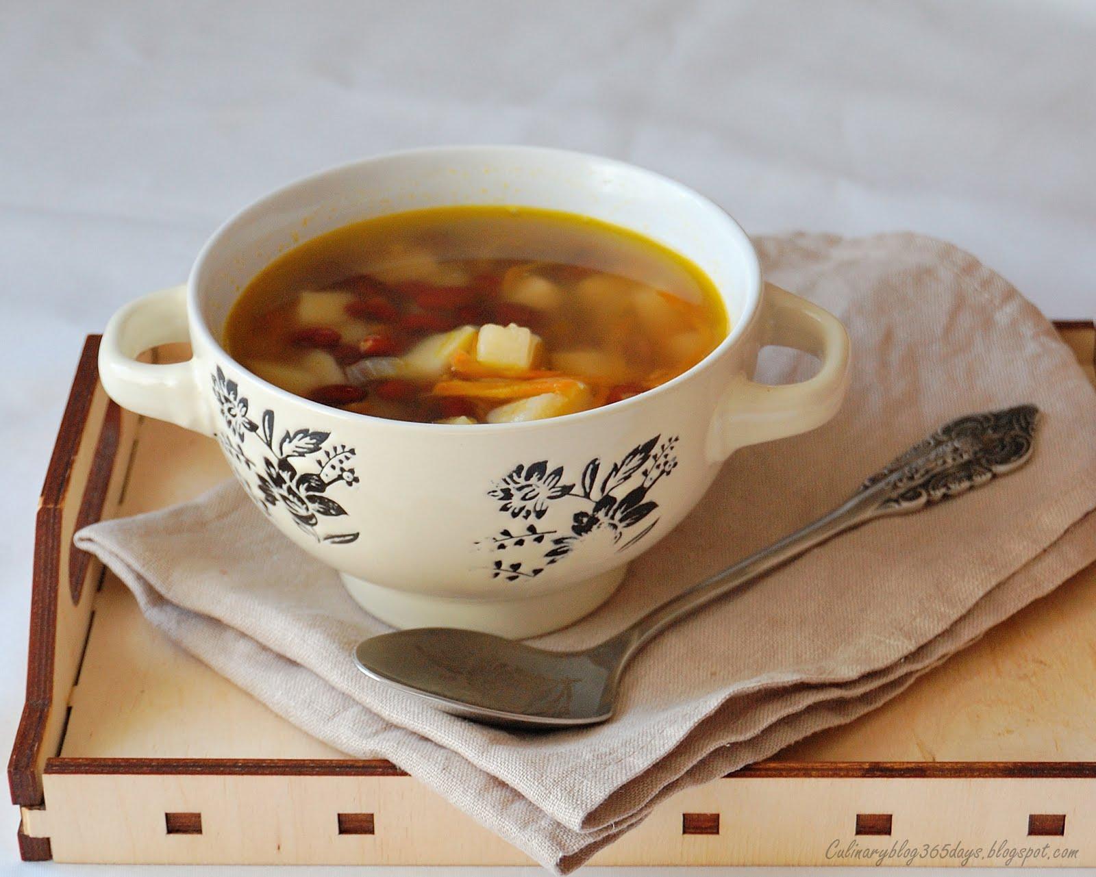 Суп из фасоли для ребенка 2 лет