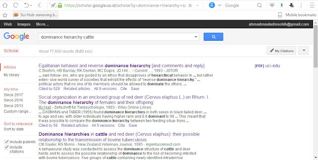 cara menggunakan google schoolar, cara menggunakan sci-hub cara download jurnal berbayar menjadi gratis