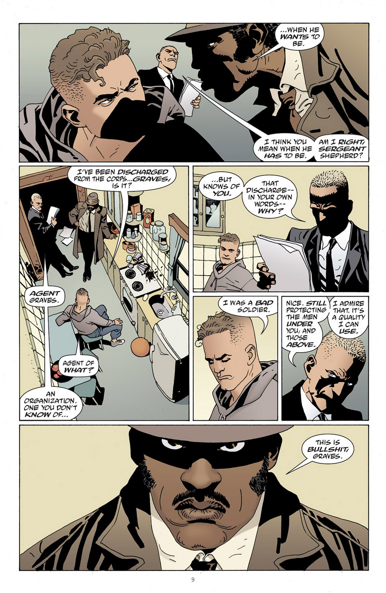 Read online 100 Bullets comic -  Issue #83 - 10