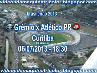 proximo jogo Grêmio x Atlético PR Curitiba 06 07 2013 - 18 30 blog dos  gremistas participe bc35d6441a1ff