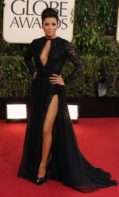 Celebrity fashion at Golden Globe Red carpet