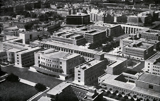 The campus of the University of Rome, pictured soon after it was built in 1935