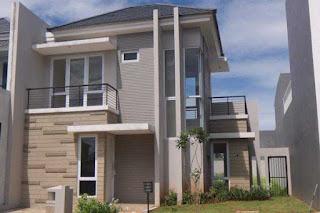 rumah minimalis 2 lantai type 45