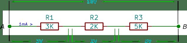 Perhitungan Resistor Seri Rangkaian Elektronika Dasar
