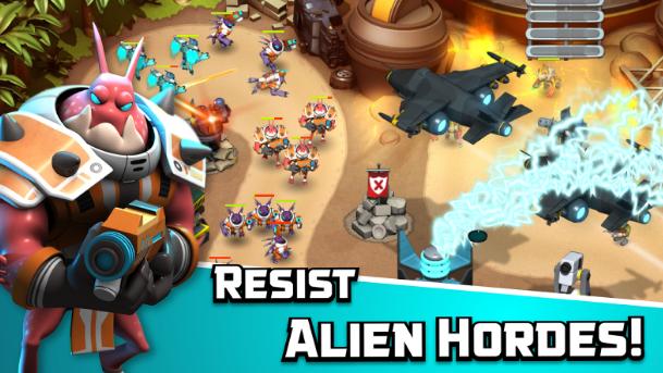 Alien Creeps TD Mod Apk