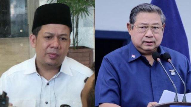 SBY Bicara soal Nasionalisme dan Globalisme, Fahri Hamzah: Kabinet Ini Tidak Punya Ideologi Pak
