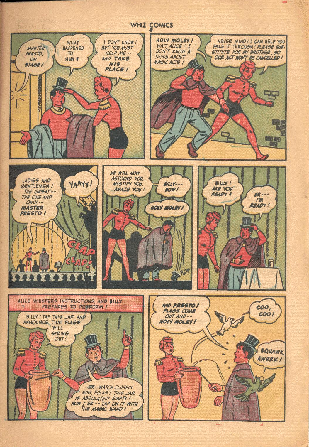 WHIZ Comics issue 71 - Page 7