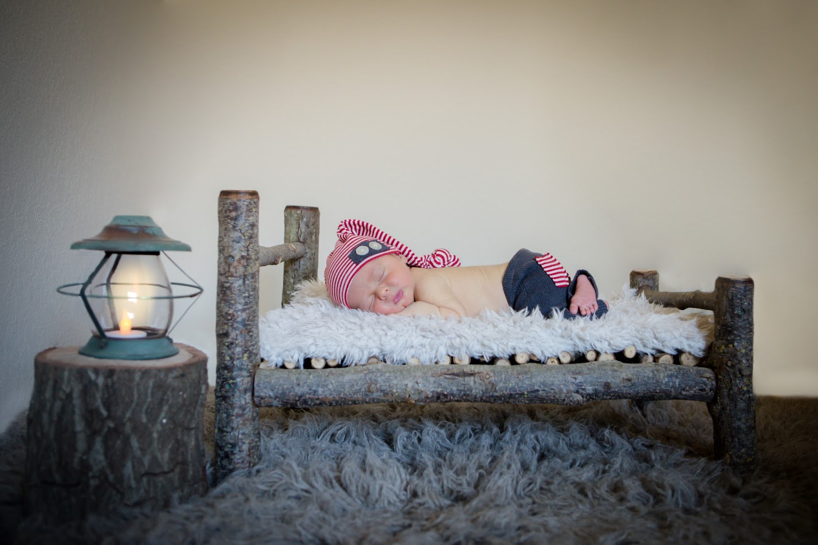 newborn handmade long bed