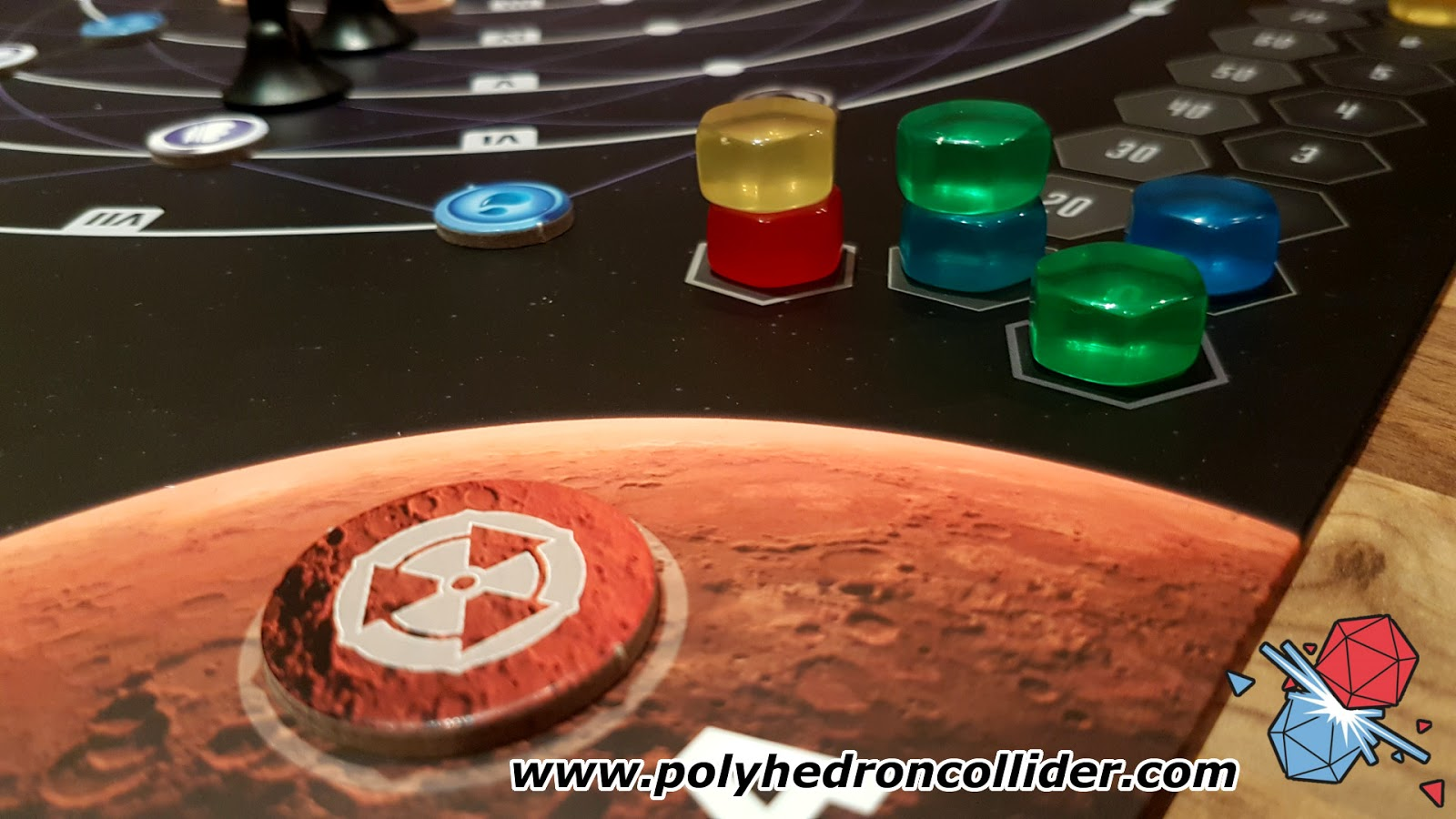 Planetarium board game review point tracker