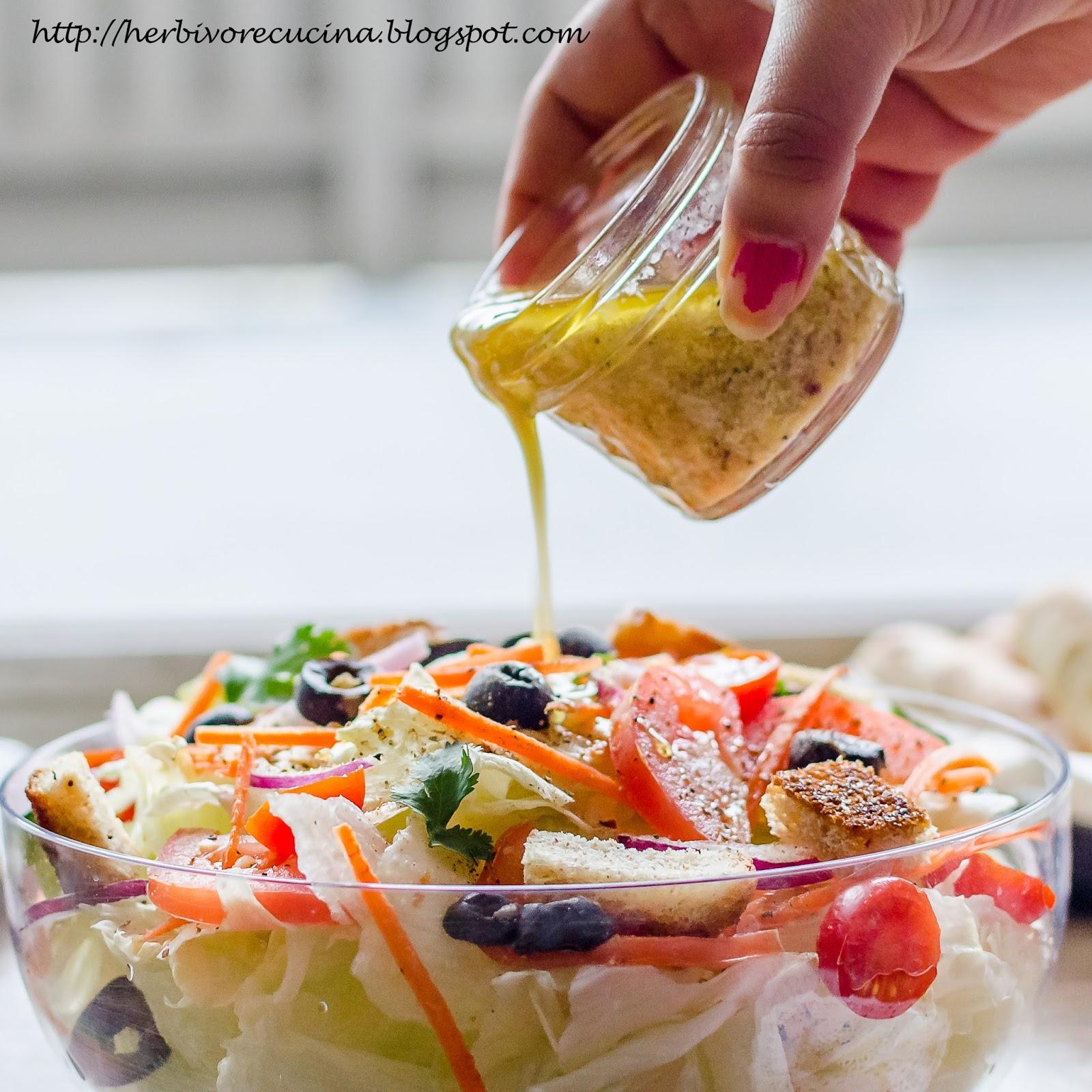 Herbivore Cucina Olive Garden Salad Dressing