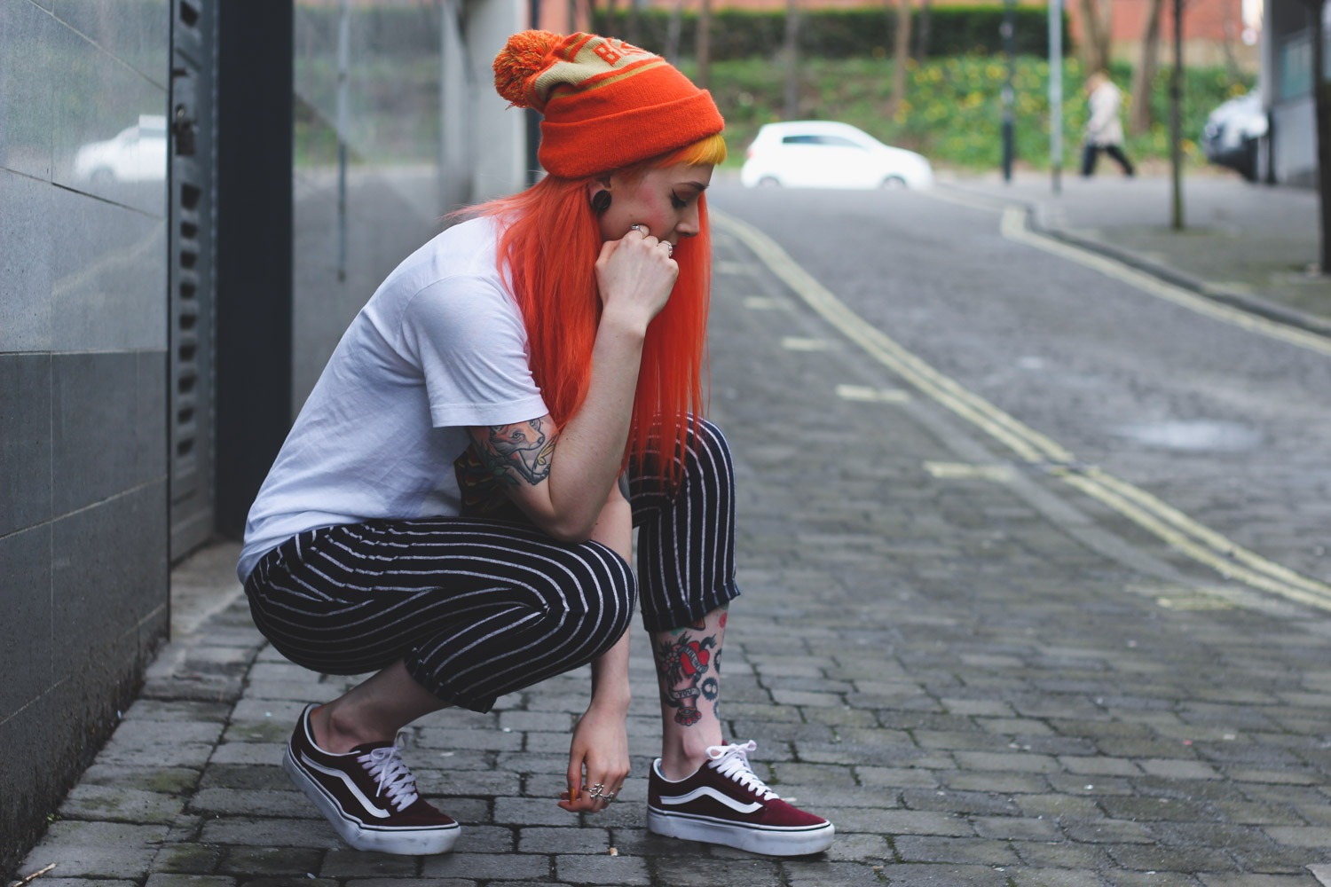 Alternative Fashion Blogger Foxxtailz styles Boohoo Trousers