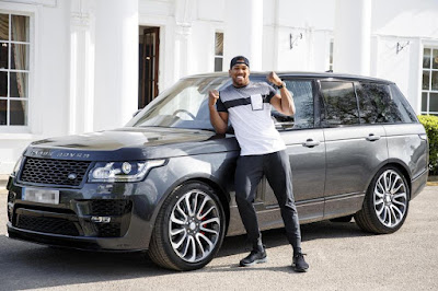 Boxing Champ, Anthony Joshua's Car Gets Stolen Just Days To His Big Fight