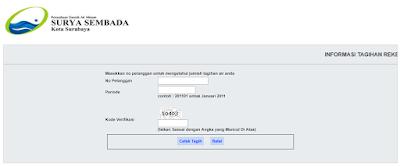 Cara Mengecek Tagihan PDAM Kota Surabaya