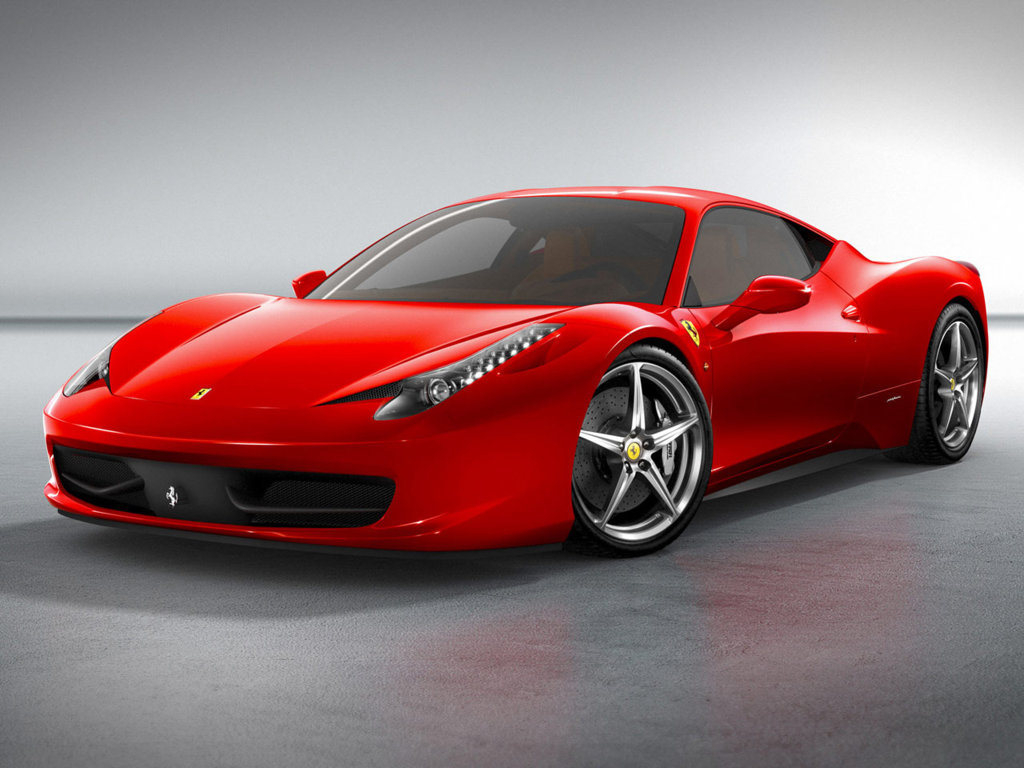 Ferrari 458 Red Sport Car HD Wallpaper Free Download HD Wallpapers PC