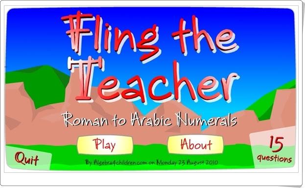 """""""Convierte números romanos en arábigos"""" (Juego de Matemáticas de Primaria)"""