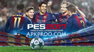 Download PES 2017 Mod Apk+Data Terbaru