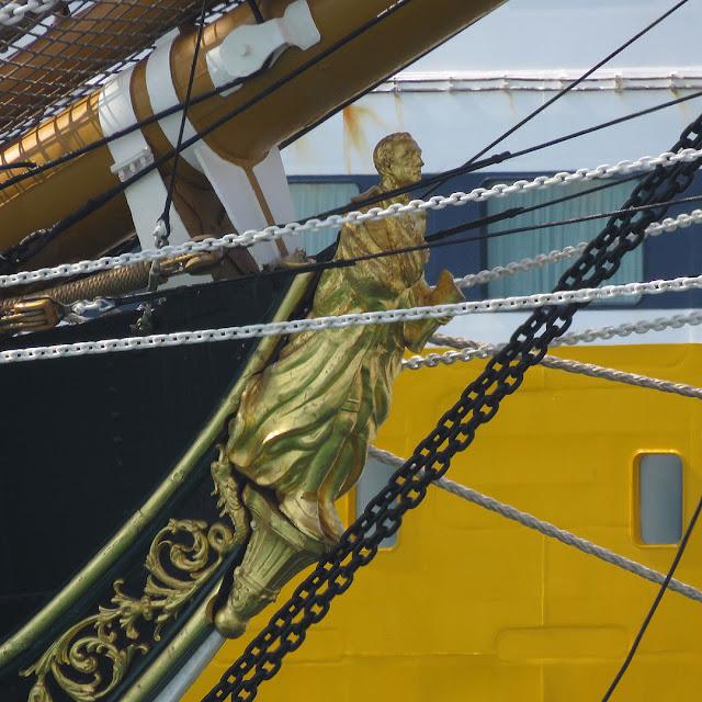 Training ship Amerigo Vespucci A 5312, porto di Livorno