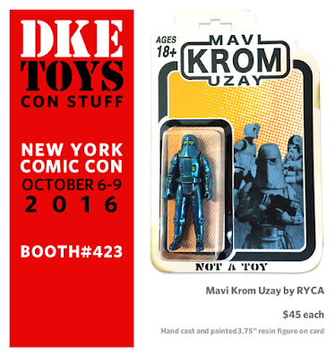New York Comic Con 2016 Exclusive Mavi Krom Uzay Star Wars Bootleg Resin Figures by RYCA x DKE Toys
