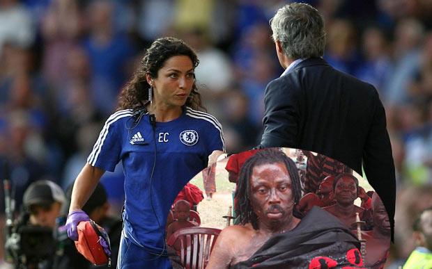 Mourinho cursed, has to apologise to Eva Carneiro - Native doctor in Ghana