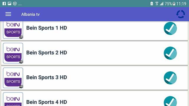 تطبيق خرافي لمشاهدة قنوات البي ان سبورت + قنوات عالمية بجودة عالية جدا وبدون تقطعات