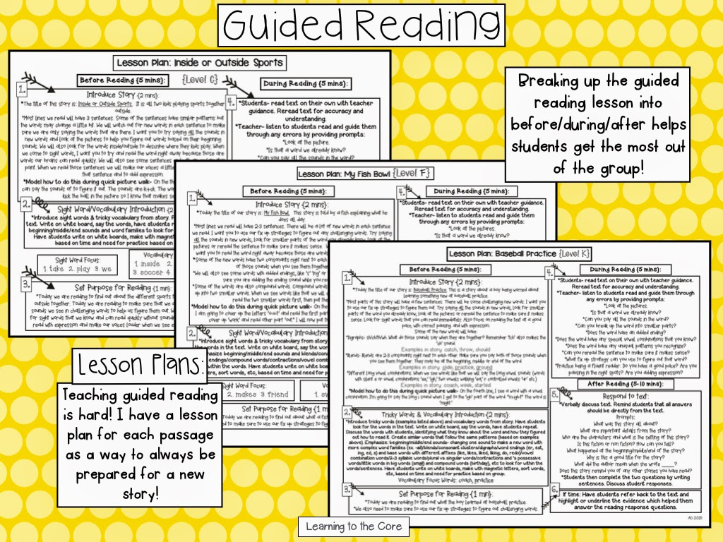 the benefits of guided reading as a literacy activity Guided reading strategies for reading comprehension abstract when students struggle with reading comprehension they are at a severe disadvantage.