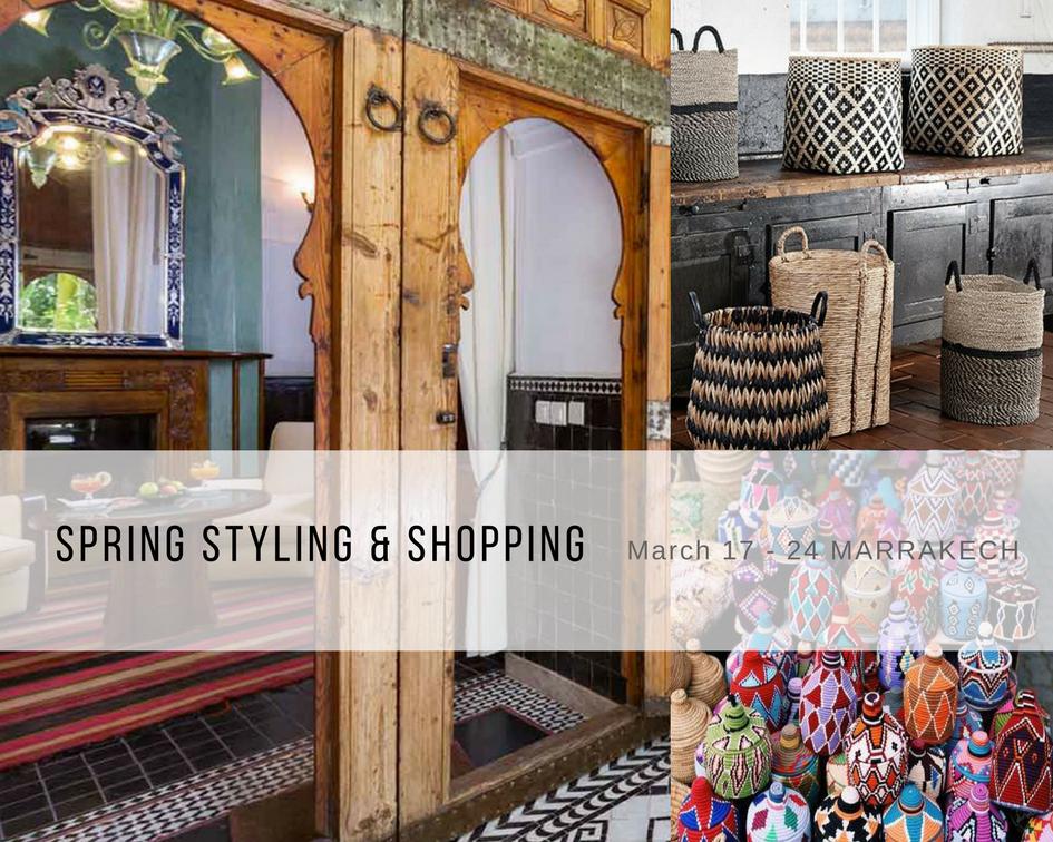 Spring, marrakech, design, shopping