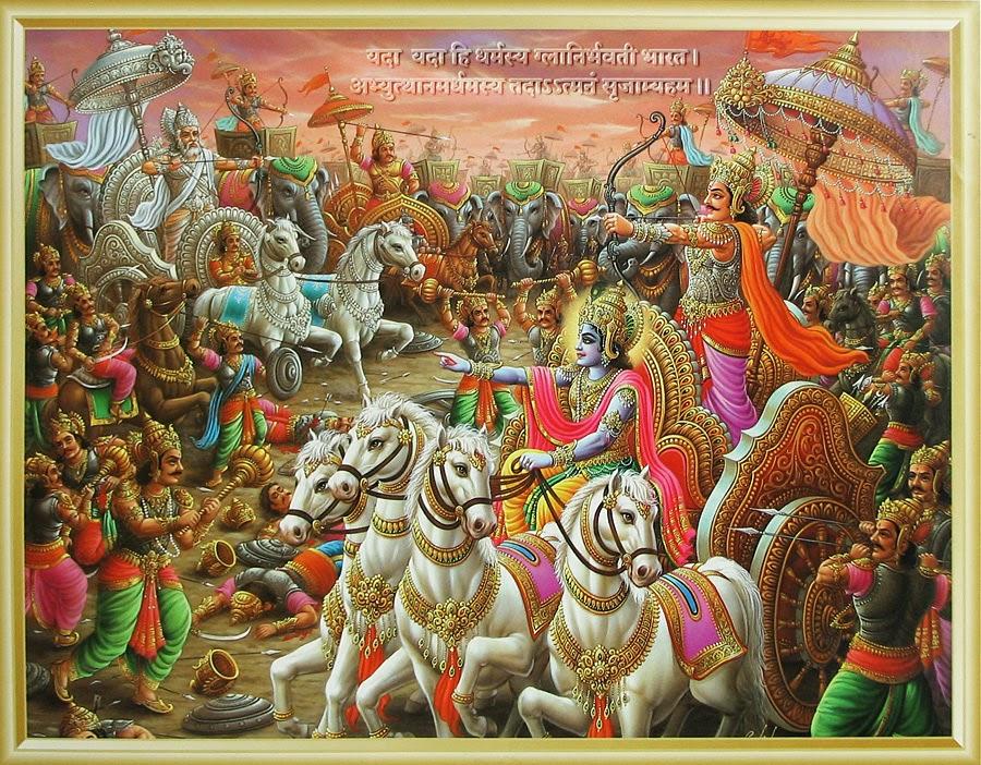 Scribblerzeal The Seed Of Mahabharata