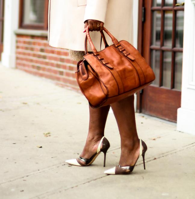 Neutral Outfit Idea Plus Size Women Blogger