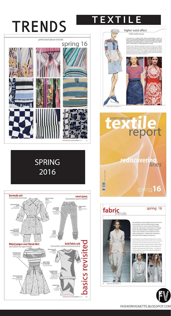 TRENDS // TEXTILE REPORT . SPRING 2016 - REDISCOVERING LINES