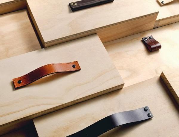 Renueva tus piezas con tiradores de cuero