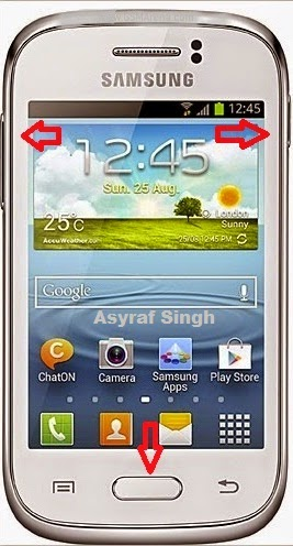 Hard Reset SAMSUNG Galaxy Young S6310