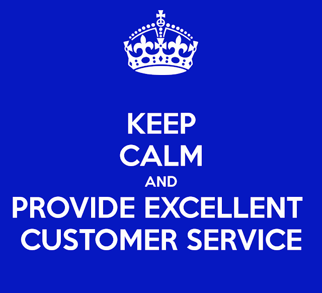 keep calm excellent customer service
