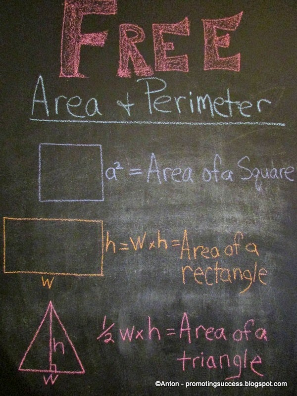 Area and Perimeter Teachers Pay Teachers Promoting-Success