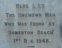 Somerton's mystery man