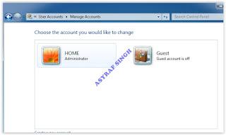 user account name