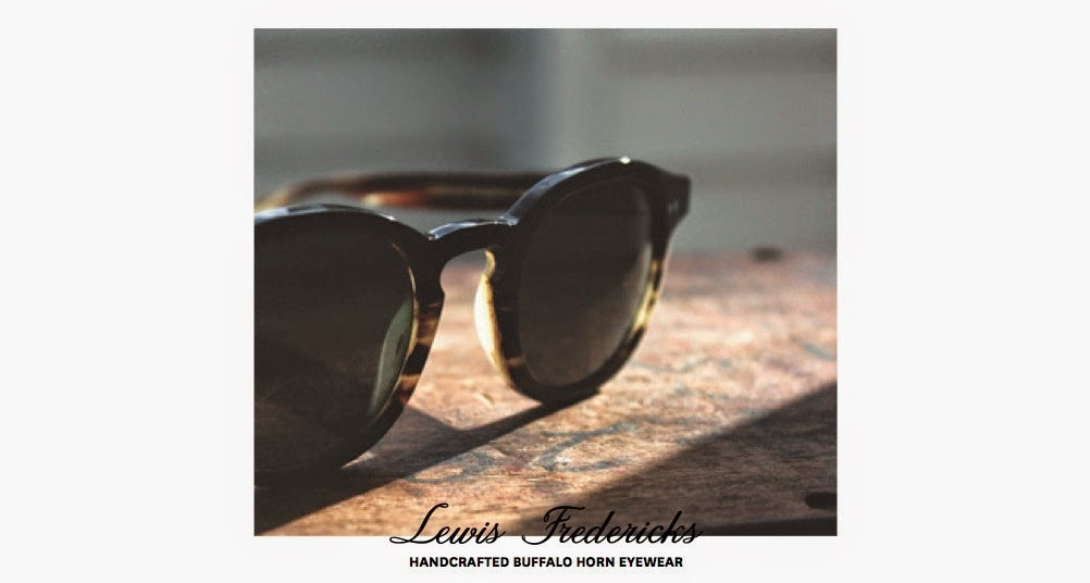 c9531f7bd6be Lewis Fredericks is a young, Kiwi eyewear brand which specialises in  handcrafted buffalo horn eyewear.