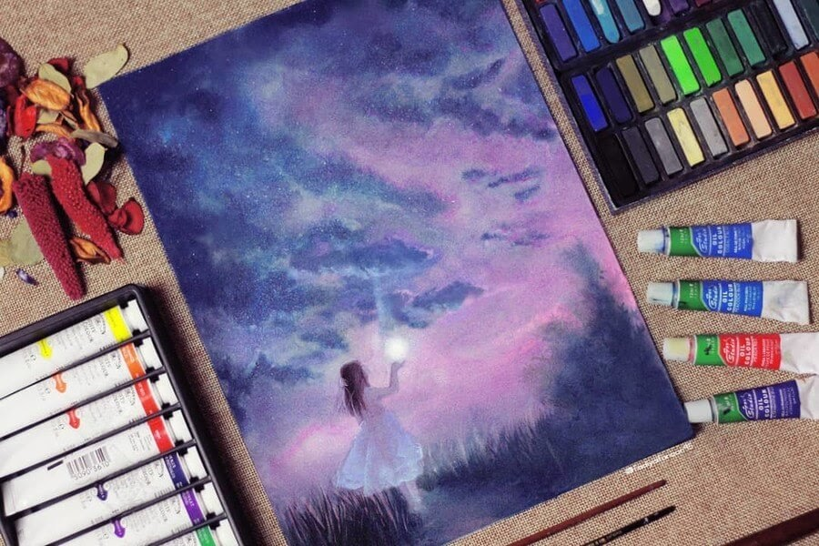 10-forever-Fadiya-faroon-Draw-and-Paint-in-Fantasy-Landscapes-www-designstack-co