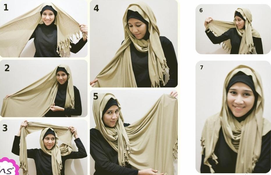 Gambar Cara Berhijab Sederhana | Hijab Simple - Gambar ...