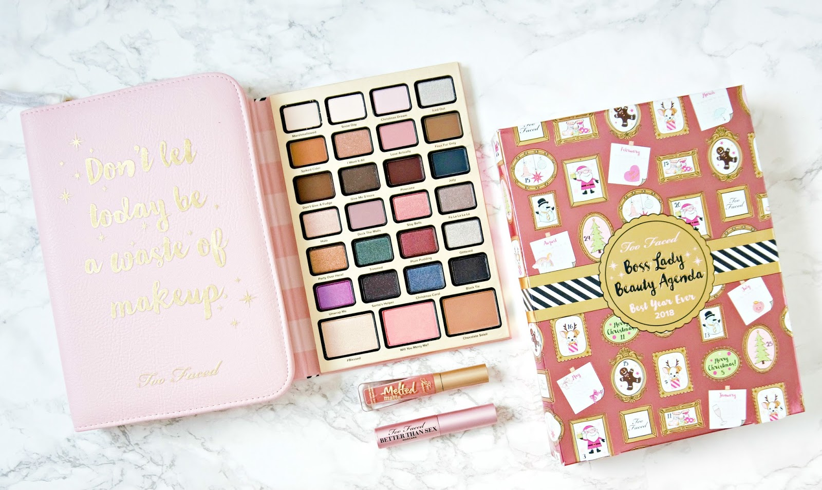 Too Faced Boss Lady Beauty Agenda Review