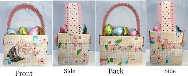 Dipsdesigns Woven Easter Basket Project