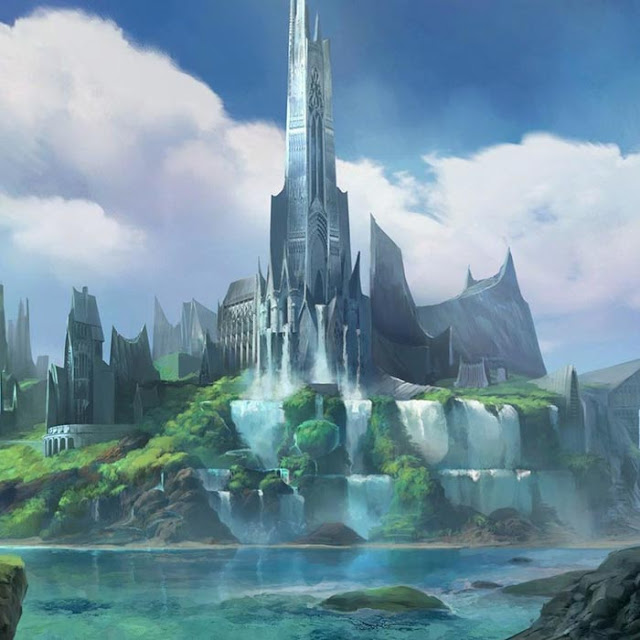 Beautiful Fantasy City Wallpaper Engine