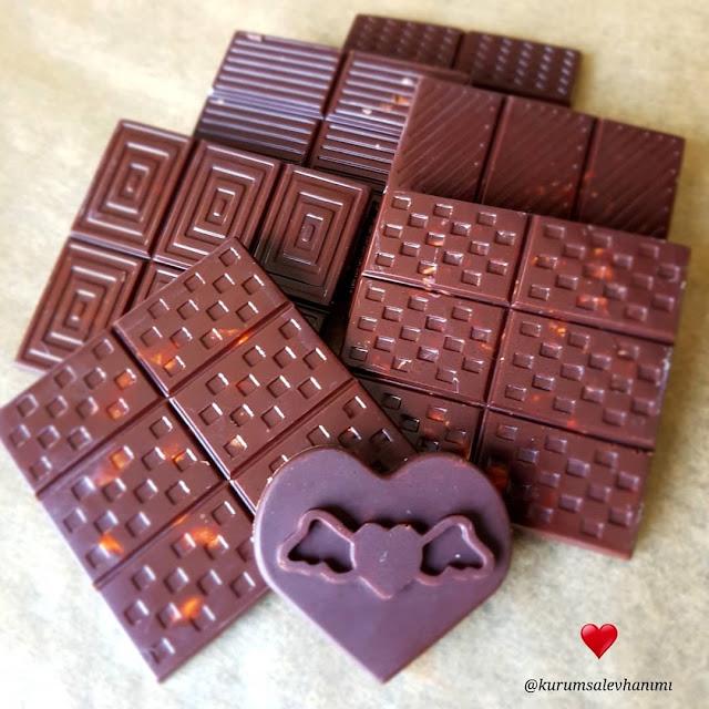 evde çikolata tarifi