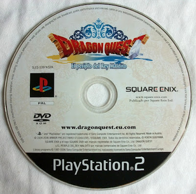Dragon Quest VIII - El Periplo del Rey Maldito - Disco juego Pal España
